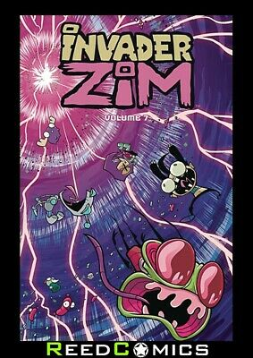 INVADER ZIM VOLUME 7 GRAPHIC NOVEL New Paperback Collects #31-35