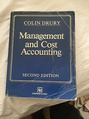 Management and Cost Accounting by Colin Drury (Paperback, 2000)