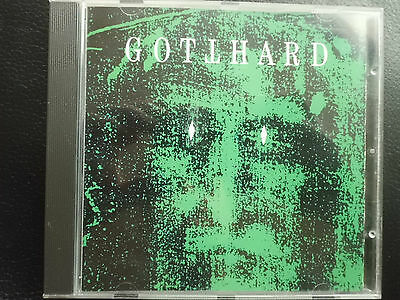 GOTTHARD  -  SAME  ( GREEN COVER ) ,  CD von  1992 ,   HARD  ROCK ,  METAL