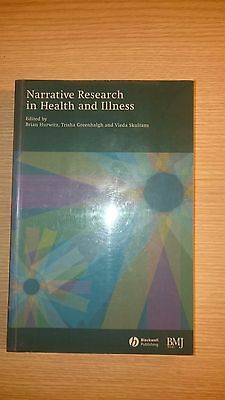 Narrative Research in Health and Illness - Ex Library Book, very good