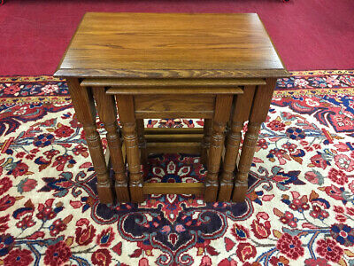 Pennsylvania House Oak Nesting Tables - Delivery and Shipping Available