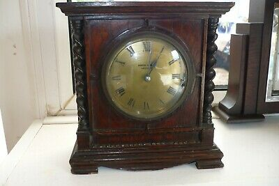 Antique Mappin And Webb Mantle Clock