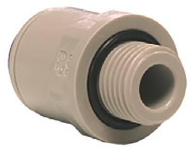 """John Guest Rohrsteckverbinder Straight 1/4 """" Bsp Pipe Connection 1/4 """""""