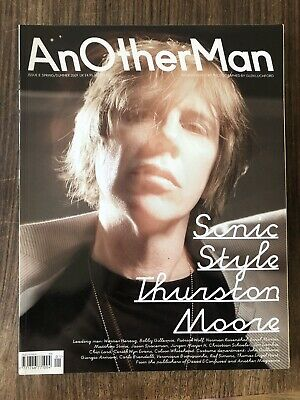 AnOther Man magazine #8 2009 Sonic Style Thurston Moore + Style guide