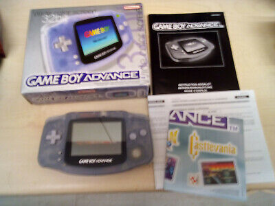 Boxed Nintendo Game Boy Advance with Pac Man Collection Game ( Gameboy )