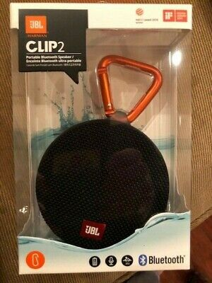 JBL Clip2 Portable Bluetooth Speaker