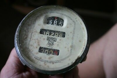 SMITHS JAEGER VERY RARE 1920's VINTAGE SPEEDOMETER  MAGMO FIXED POINTER TYPE?