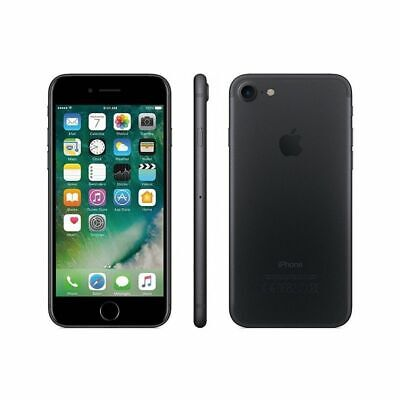 Apple Iphone 7 32Gb Black Nero Opaco Garanzia 24Mesi Nuovo Sigillato 32 Gb