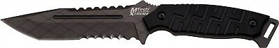 Mtech Xtreme X-8137BK Black Tactical Fighter Full Tang Combat Knife + Sheath