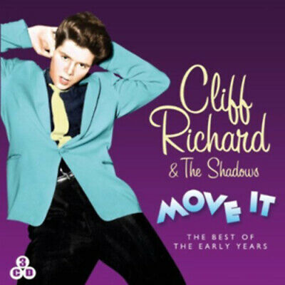 Cliff Richard and The Shadows : Move It: The Best of the Early Years CD Box Set