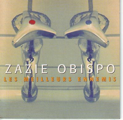 Cd Single 2T Pascal Obispo / Zazie / Meilleurs Ennemis