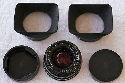 Leica Leitz Wetzlar Elmarit-R 1 : 2.8 / 28 mm; Made in Germany