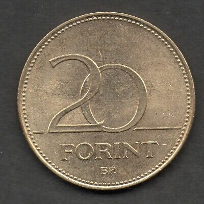 Hungry 20 Forint 2007 coin