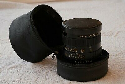 Leica Leitz Wetzlar Macro-Elmarit-R  1 :2 / 60 mm; Made in Germany