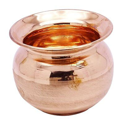 Pure Copper Handmade Jug Lota Water Pitcher For Ayurveda Health Drinking 1 PC