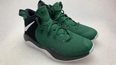 c41da1a01f7d5 Nike Zoom Rev II TB Mens Size 4.5 Gorge Green Basketball Shoes A05386 300