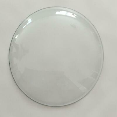 """Pam Clock Round 14-3/8"""" Clear Glass Replacement Dome"""