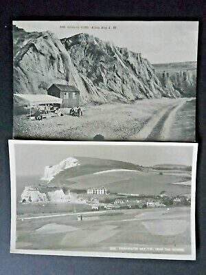 2 Vintage Postcards Of The Isle Of Wight. Unposted.
