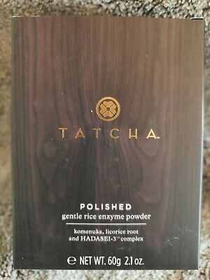 TATCHA POLISHED Gentle Rice Enzyme Powder For DRY SKIN 2.1 oz BOXED SEALED