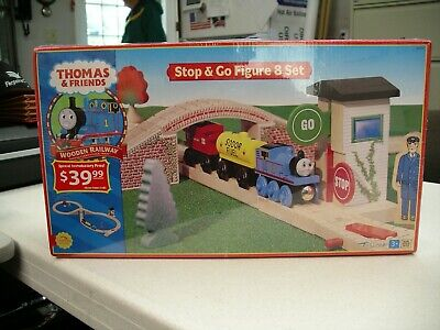 Learning Curve Thomas Friends Wooden Stop Go Figure 8 Set