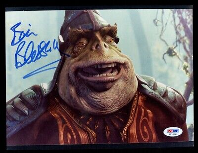 Brian Blessed Boss Nass Star Wars Signed 8x10 Photo Autographed auto PSA/DNA COA