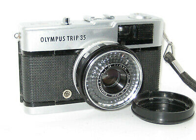 Olympus Trip 35 Perfetta Near Mint  Serviced  - 100% Funzionante Fully Working