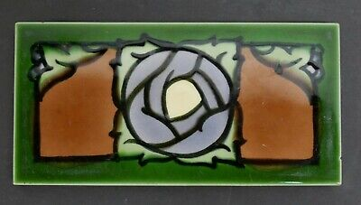 Sherwin & Cotton Antique Art Nouveau Tile England
