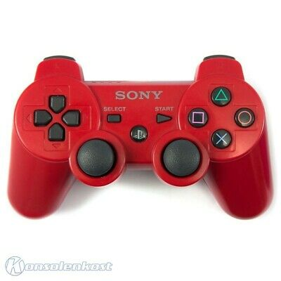 PS3 / Playstation 3 - Original DualShock 3 Wireless Controller #rot [Sony]