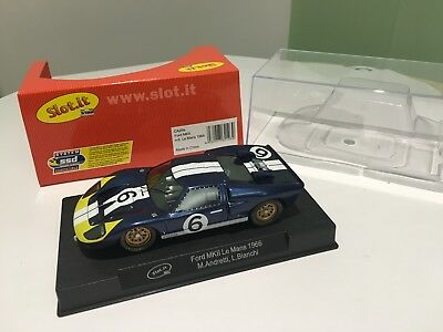 Slot.it 1/32 Ford Gt40 Mk Ii 24H Le Mans 1966 New !!!!!