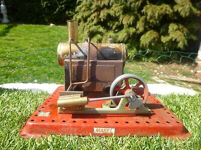 VINTAGE : MAMOD LIVE : 1960 / 70s STATIONARY STEAM ENGINE * low reserve
