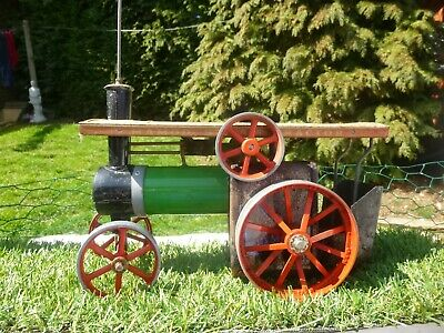 Vintage : Mamod Te 1A : Live Steam Traction Engine * With Meths Burner