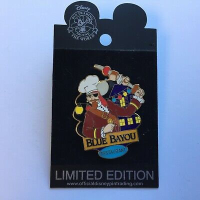 DLR - Dining Chef Series #4 Blue Bayou Annual Passholder LE Disney Pin 23084