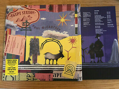 Paul  Mccartney  Egypt Station 2Lp Colored  Vinyl Limited Deluxe Edition 180 Gr.