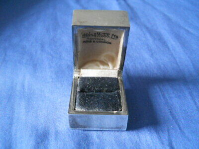 Vintage Sterling 925 MAPPIN MONTREAL Square Ring Box