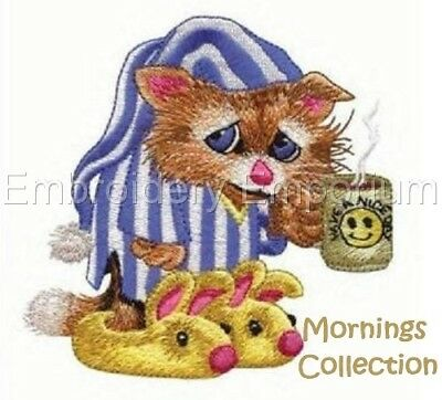 Mornings Collection - Machine Embroidery Designs On Cd Or Usb