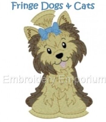 Fringe Dogs & Cats Collection - Machine Embroidery Designs On Cd Or Usb