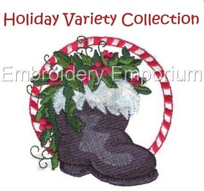 Holiday Variety Collection - Machine Embroidery Designs On Cd Or Usb