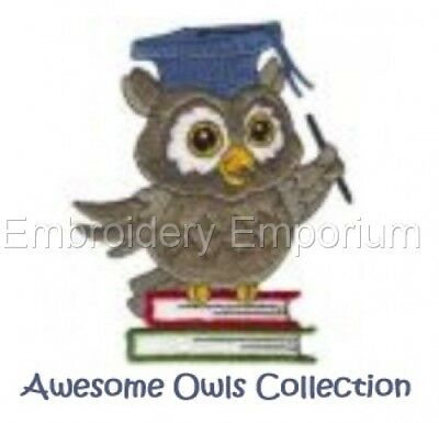 Awesome Owls Collection - Machine Embroidery Designs On Cd Or Usb