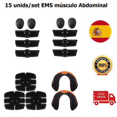 Muscle Trainer Gear Massage Body Slim Fit Abdominal Arm Abs Exercise Gym Sticker