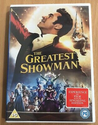 The Greatest Showman DVD - New & Sealed - Oeder Before 4PM Same Post - Free P&P