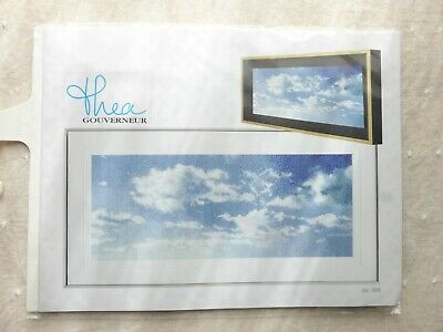"Thea Gouverneur Sky Study VIII On Aida Counted Cross Stitch Kit-5.75""X13.75"" 18"