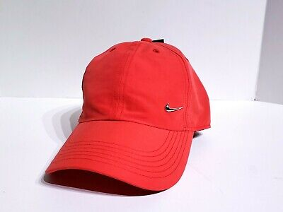 online store 5f8bb d638b Nike Youth Metal Swoosh Heritage 86 Cap Red 405043-657 Kids One Size