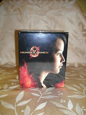 The Hunger Games Collector's Edition Blu-Ray DVD 4-Disc Box Set