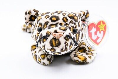 cee6e625add TY BEANIE BABY Freckles the Leopard + Rare + Tag Errors + PVC + 1996 ...