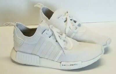 09ef0cd5db571 ADIDAS NMD R1 Japan Triple White men s size 10 preowned -  65.00 ...