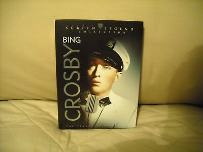 Bing Crosby Screen Legend Collection 3-Dvd Set~5 Classic Films