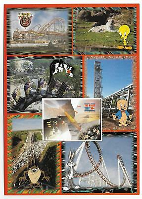 """Multiview,six Flags Great Adventure,looney Tunes 1995~ 5X7"""""""
