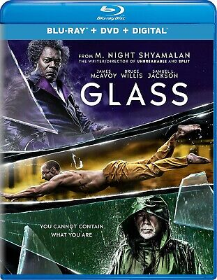 Glass (Blu-ray/DVD, 2-Disc, 2019) Unbreakable Split Sequel FREE SHIPPING