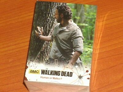 The Walking Dead Trading Cards: Season 4 Four, Part Two Base Set: Rick Grimes