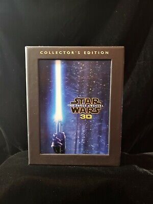 STAR WARS The Force Awakens 3D Blu-Ray/DVD/Digital HD Collectors Edition